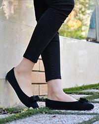 کفش پاپیونی دخترانه مدل 1742