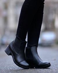 کفش نیم بوت دخترانه رونا مدل 1105