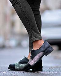 کفش دخترانه پوست ماری مدل 1117