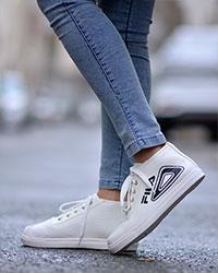 کفش دخترانه ساق دار مدل1118