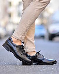 کفش مردانهبندی تخت مدل 1153