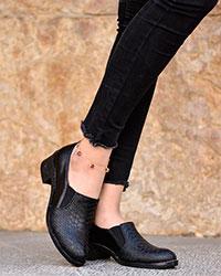 کفش دخترانه پوست ماری مدل 1187