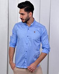 پیراهن مردانه دونه برفی مدل 1193