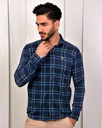 پیراهن مردانه چهارخانه مدل 1227