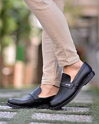 کفش کالج مردانه قالب بزرگ مدل 1447