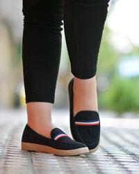 کفش دخترانه تخت مدل 1518