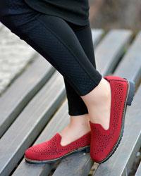 کفش دخترانه مشبک مدل 1522
