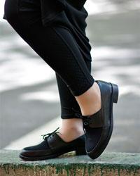 کفش دخترانهبندی مدل 1523