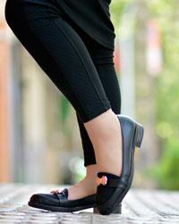 کفش دخترانه پاپیون مدل 1524