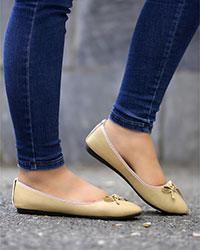کفش دخترانه پاپیون مدل 1500