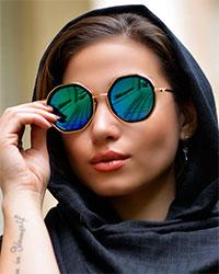 عینک دخترانه مدل 1612
