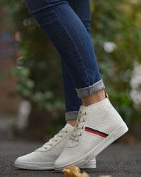 کفش نیم بوت دخترانه مدل 3650