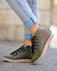 کفش نیم بوت دخترانه SILVERمدل 5333