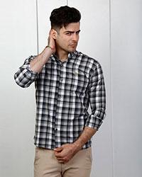 پیراهن مردانه چهارخانه مدل 1706