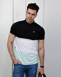 تی شرت مردانه یقه دار 3 رنگ مدل 1834