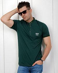 تی شرت یقه دار مردانه گپ مدل 1839