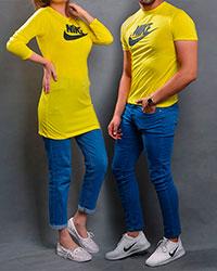 ست لباس زنانه و مردانه نایک طرح DARTO مدل 5800