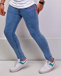 شلوار جین مردانه آبی روشن 2045