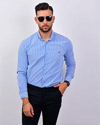 پیراهن راه راه مردانه مدل 2421