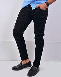 شلوار جین زاپ دار مدل 2416