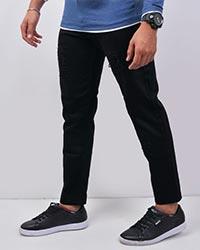 شلوار جین زاپ دار قواره کوچک مردانه مدل 2417