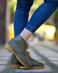 کفش نیم بوت دخترانه مدل 2630