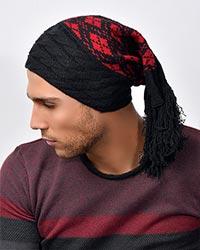 کلاه بافت ریش دار مدل 2929