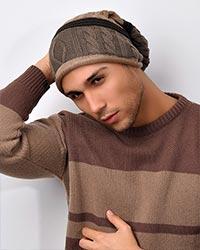کلاه بافت مردانه مدل 2928