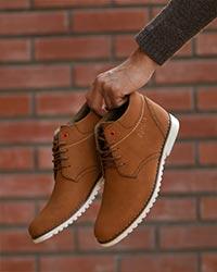 کفش نیم بوت مردانه مدل 2981