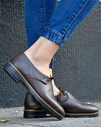 کفش دخترانه تخت مدل 2986