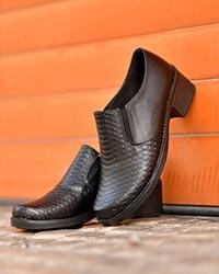 کفش دخترانه پوست ماری مدل 3045
