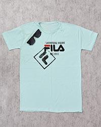 تی شرت یقه گرد FILAمدل 2329