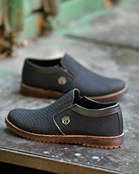 کفش تخت مردانه پولکی مدل 2076
