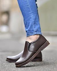 کفش مردانه تخت ساده مدل 2078