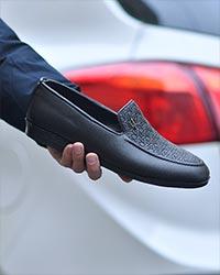 کفش کالج مردانه مات مدل 3011
