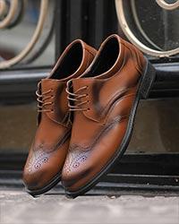 کفش مردانه تخت مدل 3071