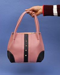 کیف صندقی دخترانه نگین دار مدل 3085