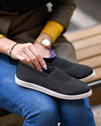 کفش دخترانه بافتی