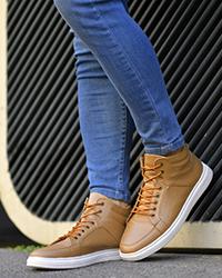 کفش ساقدار مردانه طرح TOVEN مدل 5720