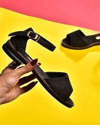 کفش صندل دخترانه مدل 9850