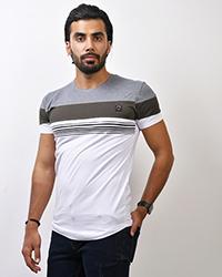 تی شرت یقه گرد مدل 0196