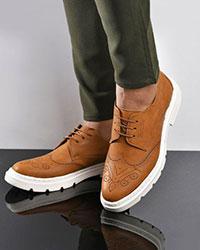 کفش مردانه رویه سوزنی مدل 0438