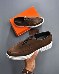 کفش مردانه ساده تخت مدل 0442
