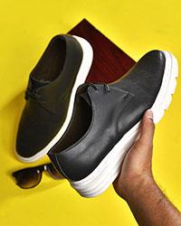 کفش مردانه طرح دار مدل 0443