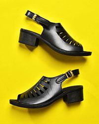 کفش دخترانه پاشنه دار مدل 0445