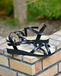 کفش صندل دخترانهبندی مدل 0447