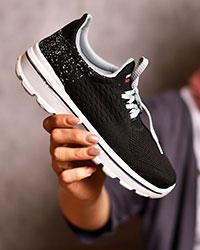 کفش ورزشی ریز بافت دخترانه مدل 0573