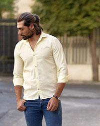 پیراهن مردانه ساده مدل 0534