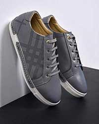 کفش مردانه دوردوخت طرح لوزی مدل 0825