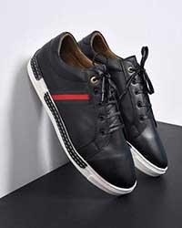 کفش مردانه گوچی پرچمی مدل 0521